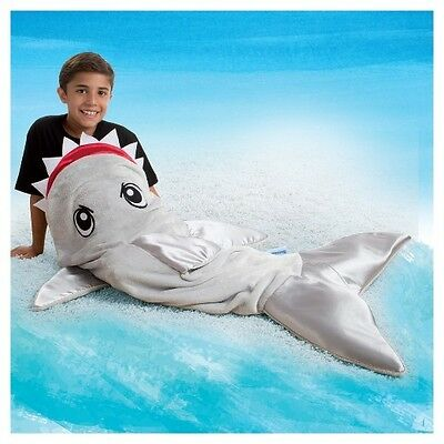 SNUGGIE TAIL- SHARK  DESIGN -AS SEEN ON TV - With FREE Postage and Handling