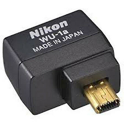 NUEVO Nikon WU-1a WU1A Wi-Fi Wireless Mobile Adapter D3300 D5200 D7100 P7800 Df