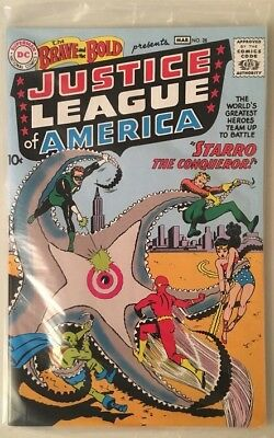 COMIC Justice League of America Brave & Bold #28 Reprint Loot Crate w/ COA