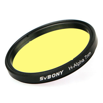 """New SVBONY 7nm 2"""" H-Alpha Filter Narrowband for Astronomical Photographic ES"""