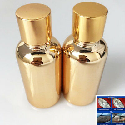 2Pcs Car Truck Repair Accessories Refresh Headlight Atomized Liquid 30ml
