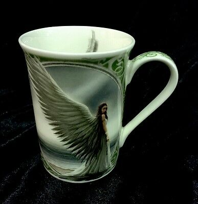 Anne Stokes Spirit Guide, Wings Of Hope Collection Fine Bone China Mug Cup