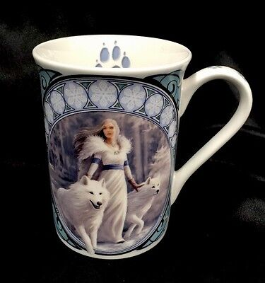 Anne Stokes Winter Guardian Beauty collection Fine Bone China Mug Cup