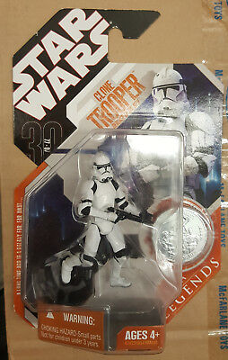 "Star Wars 30th Anniversary/Saga Legends (ROTS) Clone Trooper 3.75"" Figure"