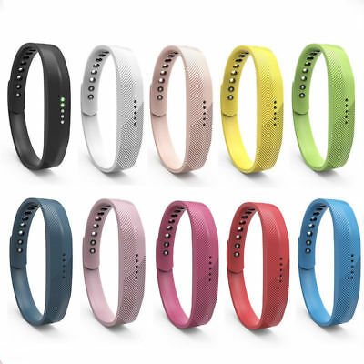 Classic Replacement Wrist Band Soft Silicon Straps For Fitbit Flex 2 Smart Watch