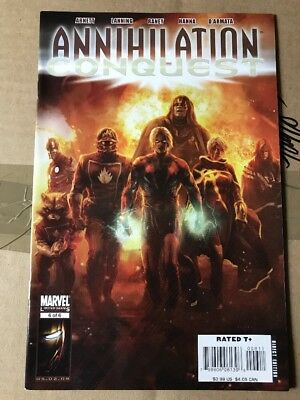 Annihilation Conquest #6 1st Guardians Of The Galaxy VF/NM GOTG Avengers