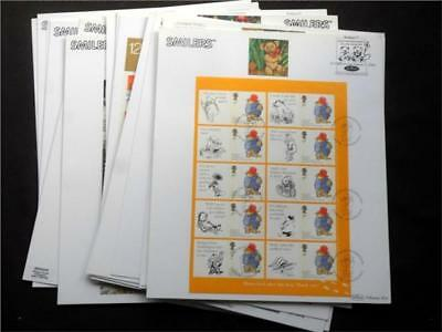"12418aj  GB c 2000 s FIRST DAY COVERS ""SMILERS"" COLLECTION HIGH CATALOGUE VALUE!"