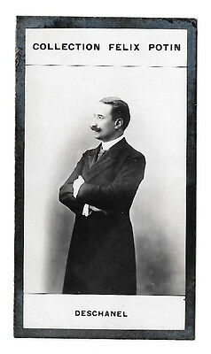 006 DESCHANEL PRESIDENT ALBUM COLLECTION FELIX POTIN VIGNETTE PHOTO 7,5 x 4 cm