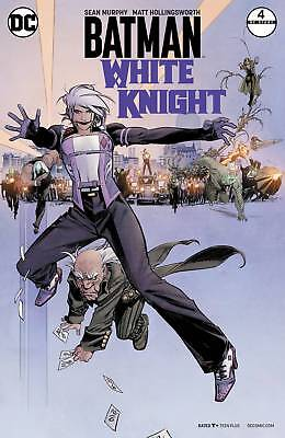 Batman White Knight #4 (Of 8) Variant Cover By Sean Murphy 1/03/18
