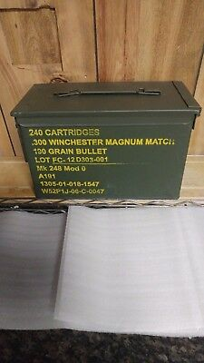 Winchester 300 Magnum Military Ammo Box, Can.