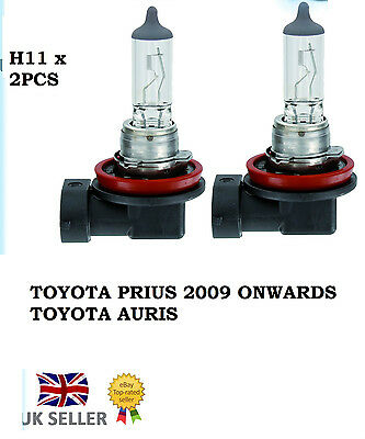 2 x H11 NEW TOYOTA PRIUS AURIS HEADLIGHT BULBS HIGH QUALITY REPLACEMENT IS220D