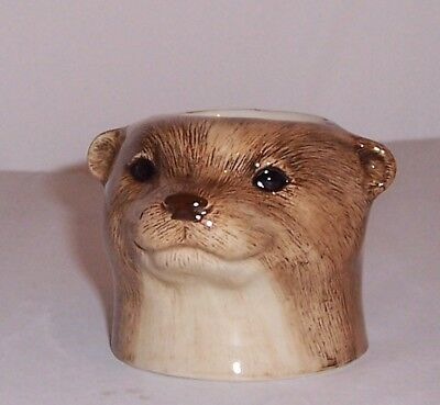QUAIL Otter Faced Egg Cup