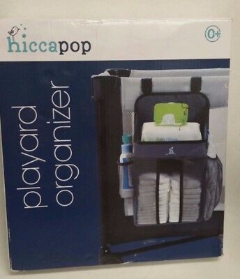 hiccapop Playard Nursery and Diapers Organizer Baby Diaper Caddy Q3 A1