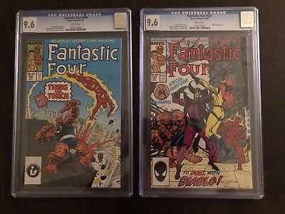 Fantastic Four # 305 & 307 CGC 9.6 White Pages
