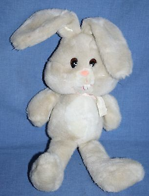 "Peppy EASTER BUNNY RABBIT 19"" Moonbeam Toys Beige Cream Plush 3014 Vtg Stuffed"