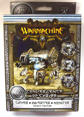 Warmachine Convergence of Cyriss Cipher / Inverter / Monitor PIP 36002 - NEW
