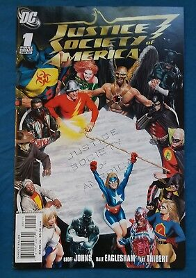 DC (2007) Justice Society of America #1-14, 16-19  Geoff Johns