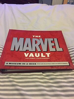 The Marvel Vault. By Roy Thomas and Peter Sanderson