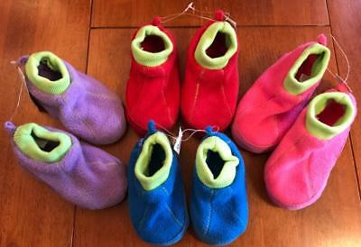 Toddler and Youth Fleece Slippers in Several Colors  The Children's Place  NEW