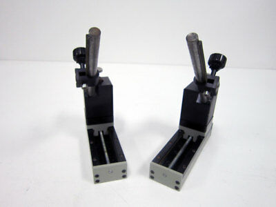Edmund Scientific Linear Motion Rail With Angled Holding Mount Holder