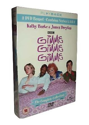 Gimme, Gimme, Gimme - The Complete Boxset (DVD, 3-Disc Box Set) . FREE UK P+P ..