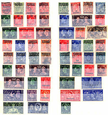 British Morocco 1899 – 1957 ***** 57 Stamps ***** 37 Mint