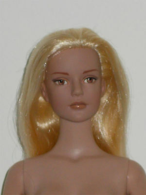 OOAK Vintage Tonner Sydney Rerooted with Blonde Hair and with BW Body