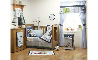 Kidsline Come Fly With Me Cot Quilt BNIB rrp $69.95