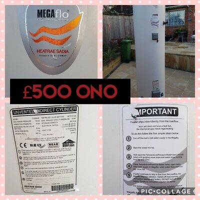 megaflow  300  litre indirect cylinder for use with gas boilers complete with...