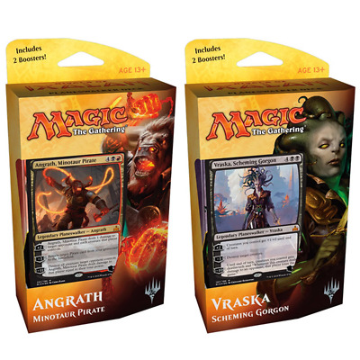 Magic The Gathering Rivals of Ixalan Planeswalker Both Decks