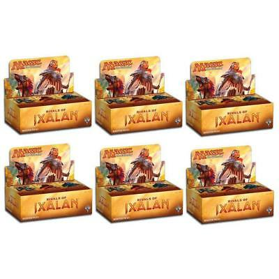 Magic The Gathering Rivals of Ixalan Booster Box Case - 6 booster Box