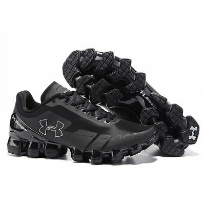 2017 Men's Under Armour Mens UA Scorpio Running Shoes All Black Leisure shoes
