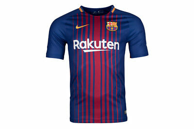 FC Barcelona 2018 NIKE Home Jersey Sizes S-2XL! EPL Football Soccer!