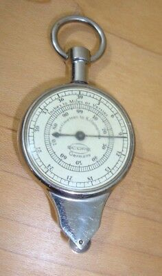 Opisometer Curvimeter Vintage Map Measuring Wheel with Compass  Germany