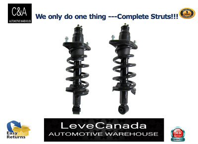 PAIR REAR  Quick Complete Strut & Coil Spring Assembly for 2007-2011 Honda CRV