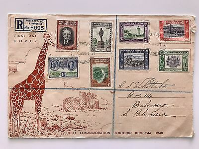 Southern Rhodesia 1940 Jubilee Commemoration First Day Cover