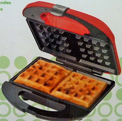 WAFFLE MAKER TRADITIONAL BELGIAN WAFFLES Non-Stick Cooking