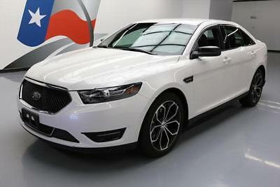 2017 Ford Taurus SHO Sedan 4-Door 2017 FORD TAURUS SHO AWD ECOBOOST NAV LEATHER 20'S 12K #102648 Texas Direct Auto