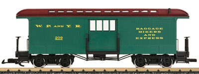 LGB - 36846 - White Pass Baggage Car - G Scale 1:22.5