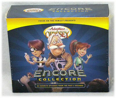 NEW The Encore Collection 36 Episodes 12 CD Adventures in Odyssey Audio Set