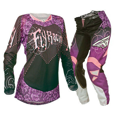 Fly Racing Kinetic Ladies Jersey And Pants Set Christmas Gift Cheap Sale