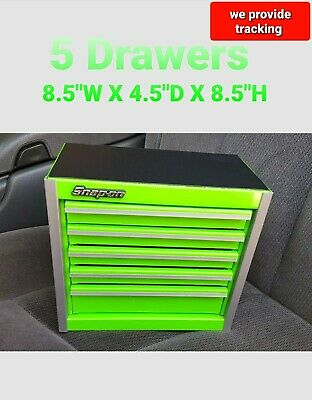 Snap-On Tool Box Miniature staionary Cabinet In EXTREME GREEN NIB