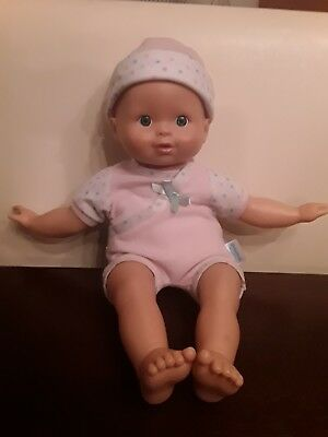 Little Mommy Baby Doll With Hat Fisher Price 2010 Mattel EUC Clean!
