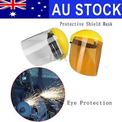 Anti-Splash Adjustable Face Visor Mask Shield Safety Workwear Eye Protection AU