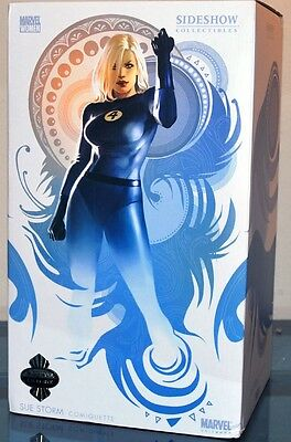 Sideshow Exclusive SUE STORM Comiquette Statue #274 Marvel Fantastic Four FF4