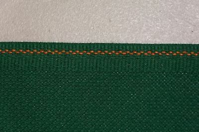 Christmas Green 14 Count Zweigart Cross Stitch Aida Fat Quarter 55cm x 50cm (...