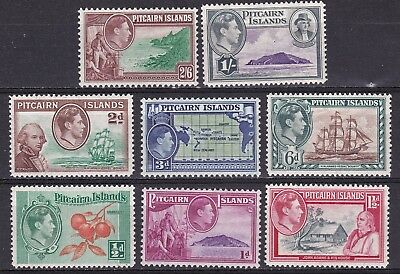 Pitcairn Island 1940 part set of 8 mint hinged