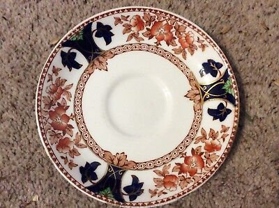 Rare Crown Douglas China Saucer spare or replacement Antique
