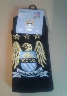 Manchester city official Adults Socks
