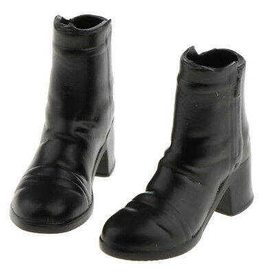 1/6 Scale Female Ankle Boots Shoes for 12 inch Action Figure Phicen Kumik B#